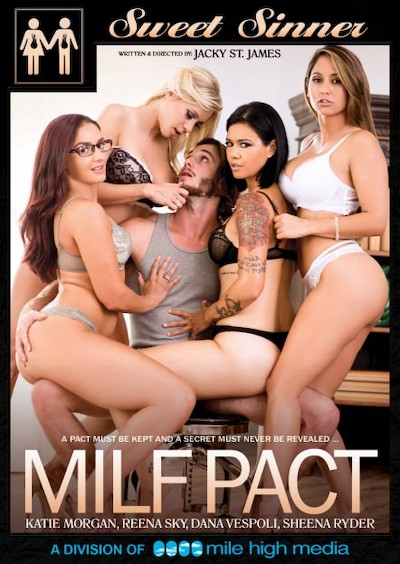 MILF Pact Porn DVD on Mile High Media with Dana Vespoli, Codey Steele, Damon Dice, Katie Morgan, Lucas Frost, Tyler Nixon, Reena Sky, Sheena Ryder