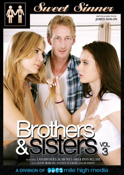 Brothers and Step-Sisters #03 Porn DVD on Mile High Media with Blair Williams, Katie Morgan, Lana Rhoades, Lucas Frost, Ryan Mclane, Steven St. Croix