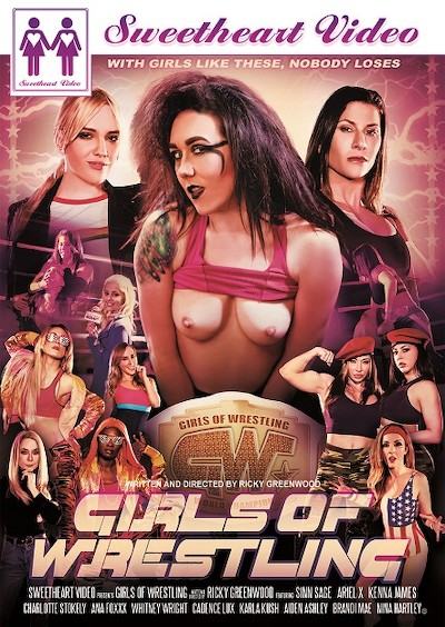 Girls Of Wrestling Porn DVD on Mile High Media with Aiden Ashley, Ana Foxxx, Ariel X, Charlotte Stokely, Cadence Lux, Kenna James, Karla Kush, Sinn Sage, Whitney Wright, Brandi Mae
