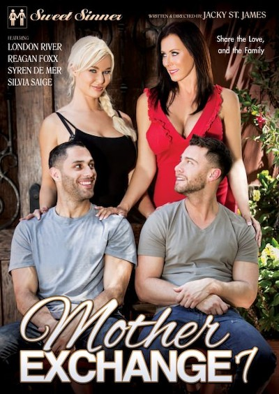 Mother Exchange 7 Porn DVD on Mile High Media with Damon Dice, London River, Van Wylde, Tyler Nixon, Silvia Saige, Syren De Mer, Seth Gamble, Reagan Foxx