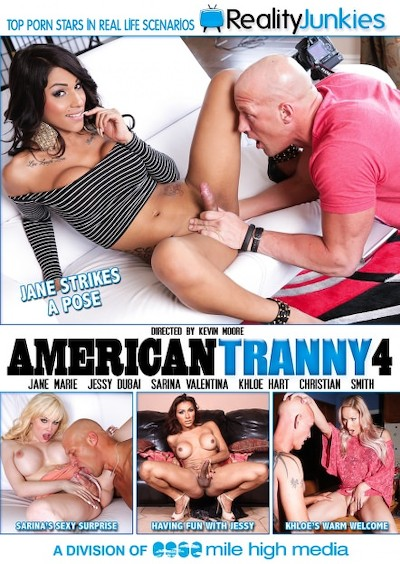American Tranny #04 Reality Porn DVD on RealityJunkies with Christian