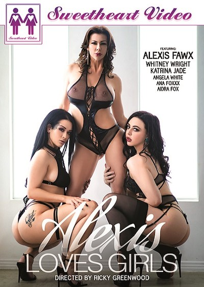 Alexis Loves Girls Porn DVD on Mile High Media with Aidra Fox, Alexis Fawx, Ana Foxxx, Angela White, Katrina Jade, Whitney Wright