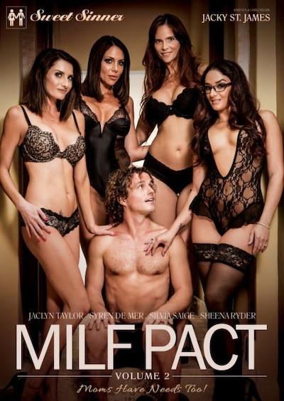 MILF Pact #02 Porn DVD on Mile High Media with Jaclyn Taylor, Jessy Jones, Logan Pierce, Ricky Johnson, Silvia Saige, Syren De Mer, Sheena Ryder, Robby Echo