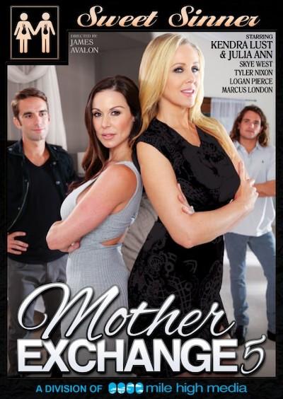 Mother Exchange #05 Porn DVD on Mile High Media with Logan Pierce, Julia Ann, Marcus London, Kendra Lust, Tyler Nixon, Skye West