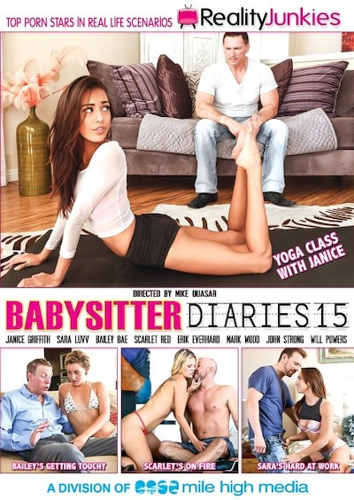 Babysitter Diaries #15 Reality Porn DVD on RealityJunkies with Bailey Bae