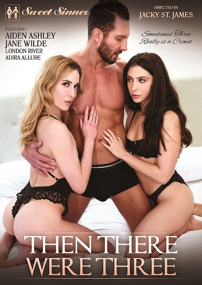 Then There Were Three Porn DVD on Mile High Media with Adira Allure, Jason Moody