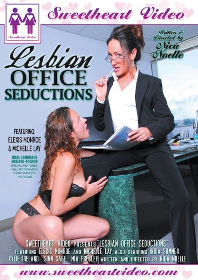 Lesbian Office Seductions Porn DVD on Mile High Media with Elexis Monroe, India Summer, Mia Presley, Michelle Lay, Kylie Ireland, Sinn Sage