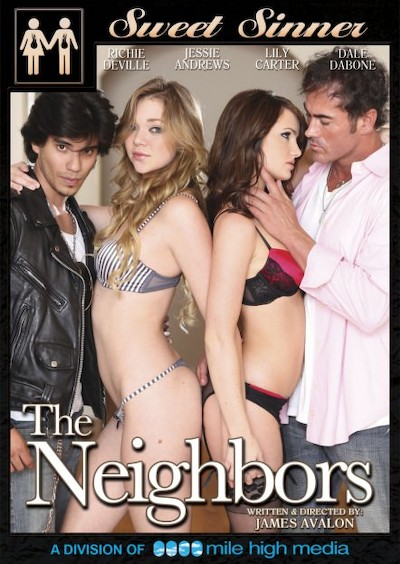 The Neighbors Porn DVD on Mile High Media with Dale Dabone, Jessie Andrews, Lily Carter, Richie Deville
