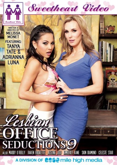 Lesbian Office Seductions #09 Porn DVD on Mile High Media with Adrianna Luna, Celeste Star, Maddy OReilly, Justine Joli, Raven Rockette, Skin Diamond, Tanya Tate, Kimberly Kane