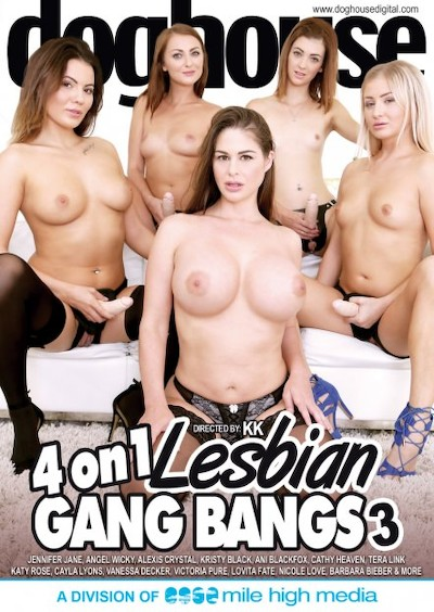 4 On 1 Lesbian Gang Bang #03 Porn DVD on Mile High Media with Alexis Crystal, Ani Blackfox, Angel Wicky, Barbara Bieber, Cayla Lyons, Cathy Heaven, Jenifer Jane, Kristy Black, Barbie Sins, Katy Rose, Nicole Love, Tera Link, Victoria Pure, Emylia Argan, Vanessa Decker