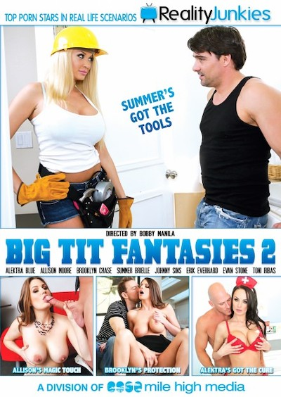 Big Tit Fantasies #02 Porn DVD on Mile High Media with Allison Moore, Alektra Blue, Erik Everhard, Evan Stone, Johnny Sins, Summer Brielle, Toni Ribas, Brooklyn Chase