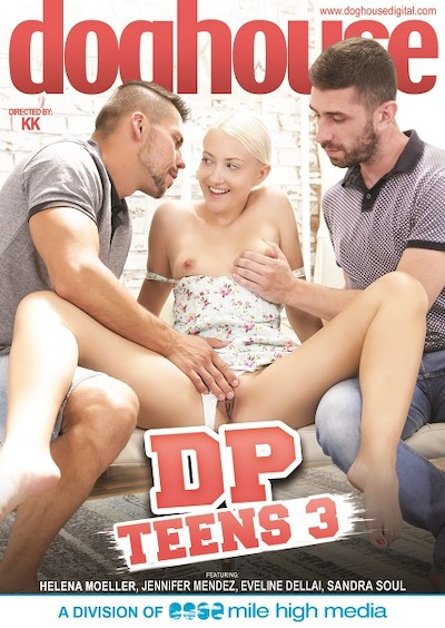DP Teens 3 Porn DVD on Mile High Media with Angelo Godshack, Eveline Dellai, Michael Fly, Matt Darco, Thomas, Mad Bundy, Jennifer Mendez, Helena Moeller, Sandra Soul