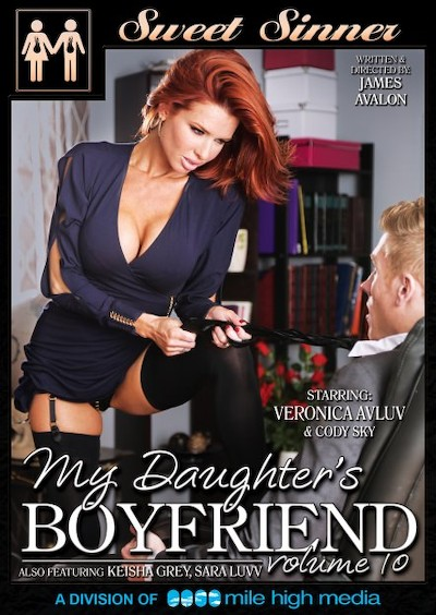 My Daughter's Boyfriend #10 Porn DVD on Mile High Media with Cody Sky, James Deen, Keisha Grey, Tommy Gunn, Sara Luvv, Veronica Avluv