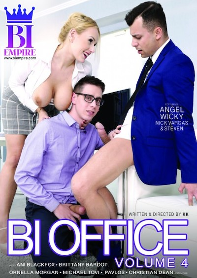 Bi Office #04 Bisexual Orgy on Bi Empire with Ani Blackfox