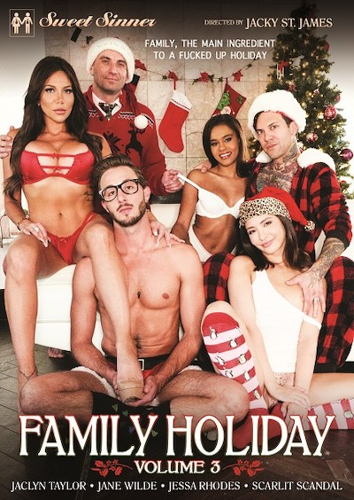 Family Holiday Volume 3 Premium Porn DVD on SweetSinners with Damon Dice