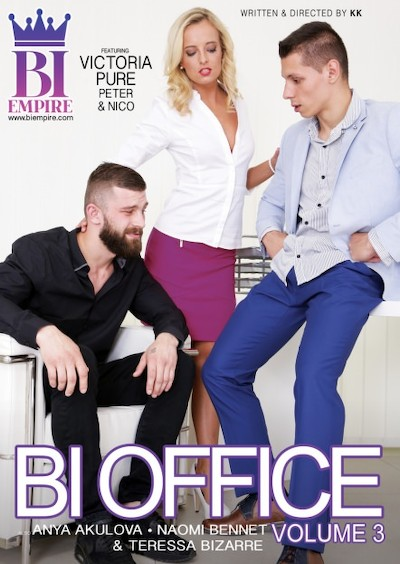 Bi Office #03 Bisexual Orgy on Bi Empire with Alessandro Katz