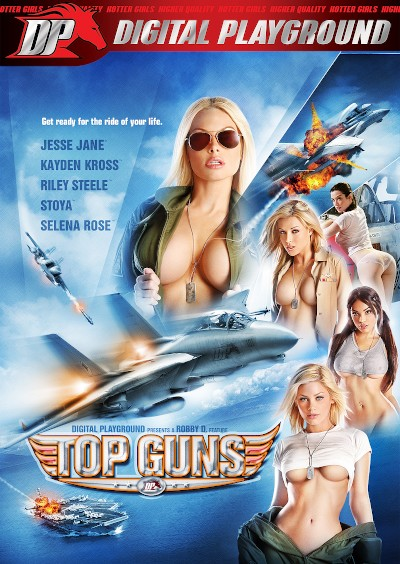 Top Guns - Mick Blue, Erik Everhard, Tommy Gunn, Selena Rose, Ben English, Marcus London, Scott Nails, Riley Steele, Stoya, Kayden Kross, Raven Alexis, Jesse Jane®