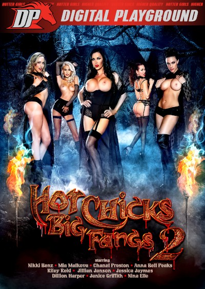 Hot Chicks Big Fangs 2 - Chad White, Danny Mountain, Mia Malkova, Jillian Janson, Janice Griffith, Riley Reid, Ryan McLane, Anna Bell Peaks, Nikki Benz, Damon Dice, Nina Elle, Chanel Preston, Dillion Harper, Keiran Lee, Jessica Jaymes, Small Hands