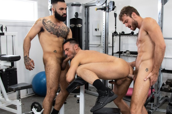 Blended Family Scene 1 - Colby Tucker, Max Adonis, Zaddy