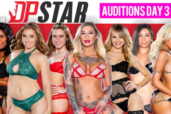 DP Star 3 Audition Episode 3 - Jillian Janson, Jenna J Foxx, Lilly Ford, Luna Star, Lena Paul, Shane Blair, Kleio Valentien