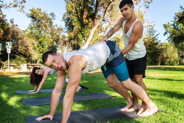 Power Yoga Part 4: Bareback - feat Pierce Paris, Ty Mitchell