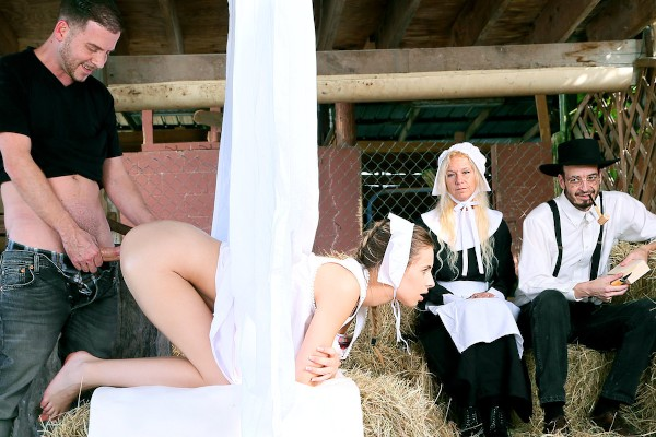 Amish Girls Go Anal Part 1: Time To Breed - Jillian Janson, Tony Rubino