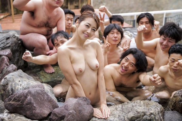 Erito porn - Maki Fucks Fans on Onsen Tour