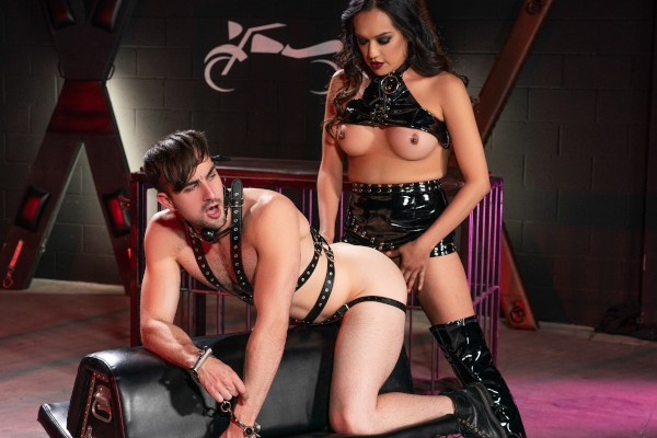 Watch The TransAngels Motorcycle Club Part 2 featuring Jessica Foxx, Mason Lear Transgender Porn