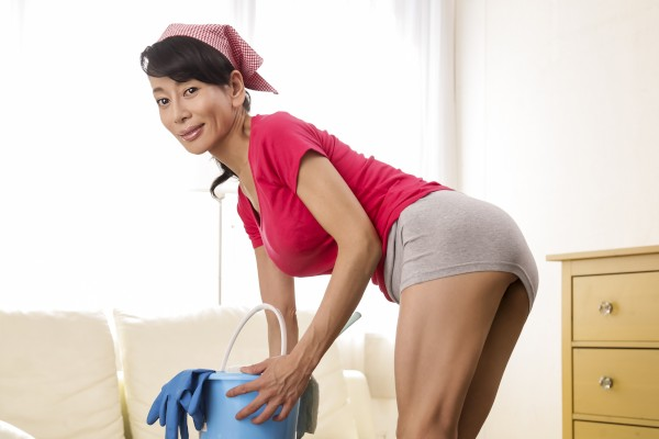 Hot Maid's Big Cleanup - - Erito