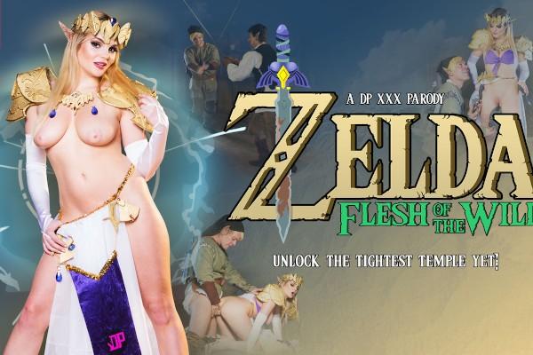 Zelda Flesh of the Wild: A DP XXX Parody - Katy Jayne, Ryan Ryder