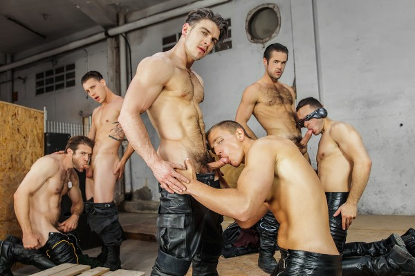 X-Men : A Gay XXX Parody Part 4 - feat Paul Canon, Landon Mycles, Mike De Marko, Paddy O'Brian, Colby Keller, Brenner Bolton