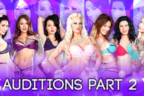 Season 2 - Auditions Part 2 - Holly Heart, Nikki Benz, Eva Lovia, Alice Lighthouse, Fallon West, Daisy Monroe, Karmen Karma, Aria Alexander, Dallas Black