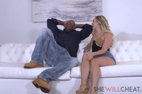 Unsatisfied wife AJ Applegate needs BBC instead of her husband - AJ Applegate