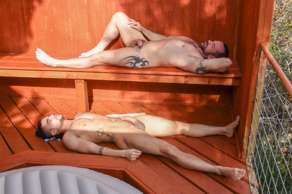 Dudes In Public 19 - Pool Deck - Ethan Ayers, Beaux Banks