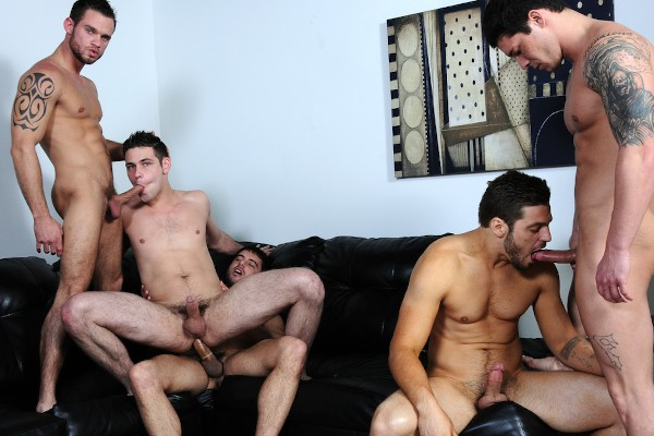 Brother Husbands - Cooper Reed, Andrew Blue, Haigen Sence, Duncan Black, Donny Wright