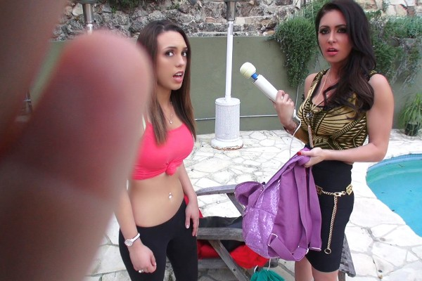 Watch Jade Nile, Jessica Jaymes in Babysitter MILF Threesome