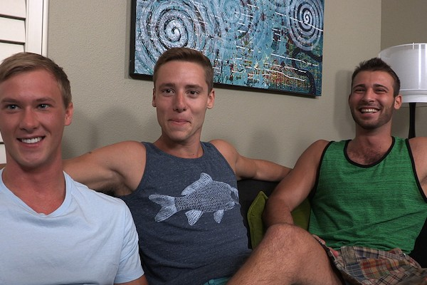 Taylor, Brent & Jarek - Best Gay Sex