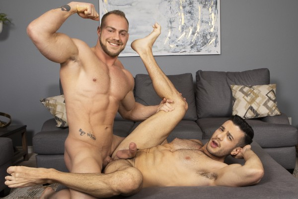 Brock & Manny : Bareback - Best Gay Sex