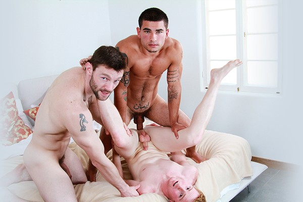 I Bred My New Stepdad Part #3, Scene 1 - Vadim Black, Dennis West, Dylan Bridges