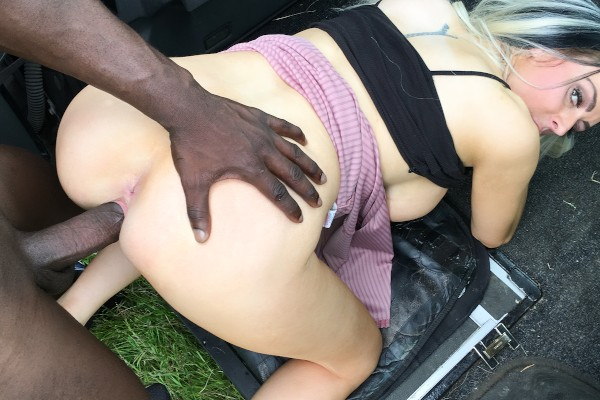 [FakeTaxi] Jess Scotland – Jess Scotland and her first black cock