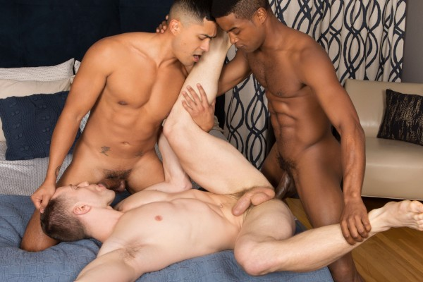 Landon, Deacon & Asher: Bareback - Best Gay Sex