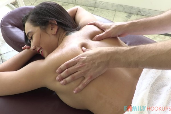Stepsibling Massage Reversal with Karlee Grey at captainstabbin.com
