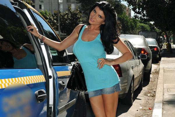 Watch Romi Rain in Pussy Playtime Taxi Tour