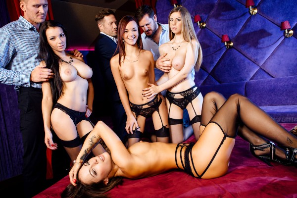 A French Affair - Scene 4 - Nikita Bellucci, Marc Rose, Stella Cox, Lea Guerlin, Yanick Shaft, Freddy Fox, Sophia Laure