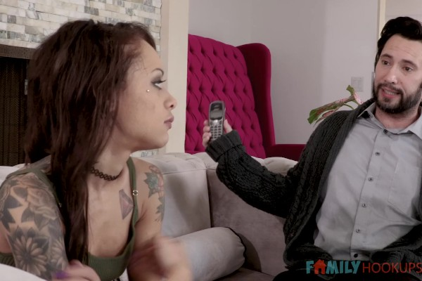 Stepdad Made Me Swallow with Holly Hendrix at milfhunter.com