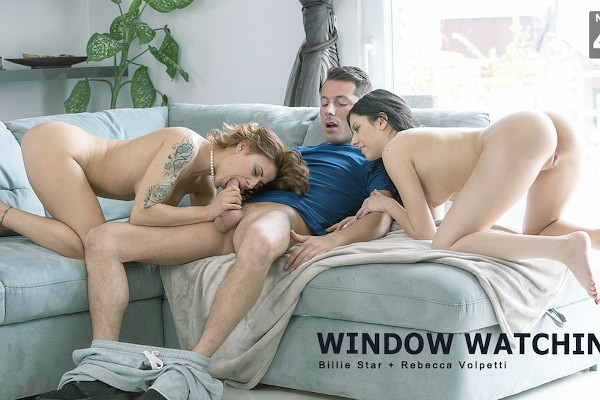 Window Watching - Rebecca Volpetti, Katia, Nick Gill - Babes