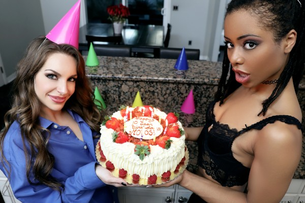 Watch Xander Corvus, Kimmy Granger, Kira Noir in Happy 10th Birthday Mofos