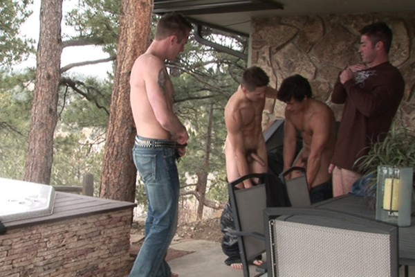 Ski Retreat Fuckfest - Best Gay Sex