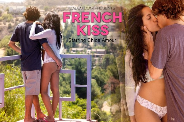 French Kiss - Chloe Amour, Tyler Nixon - Babes