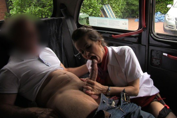 Watch Amica Bentley in Flight Attendant Gives Taxi Driver A First Class Cock Fucking